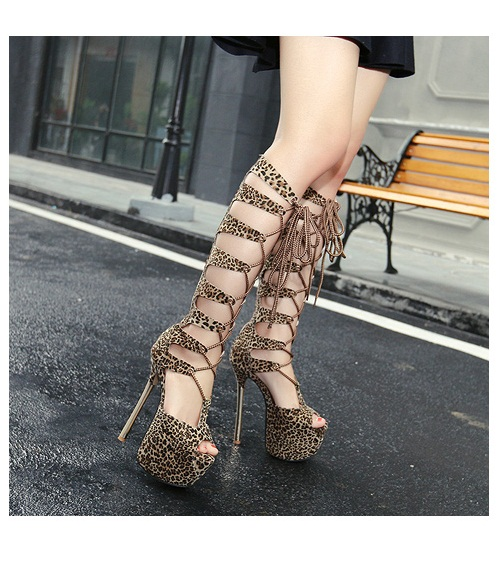 SH53239 IDR.269.000 MATERIAL PU-HEEL-16CM COLOR BROWN SIZE 36,37,38,39,40
