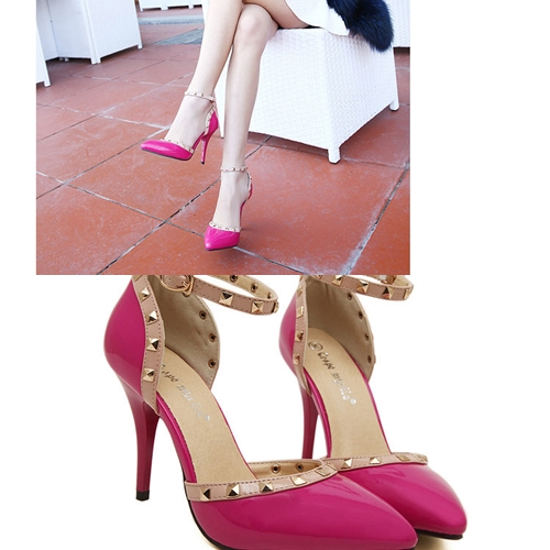 SH5755 IDR.22O.OOO MATERIAL PU HEEL 10CM COLOR PINK SIZE 37