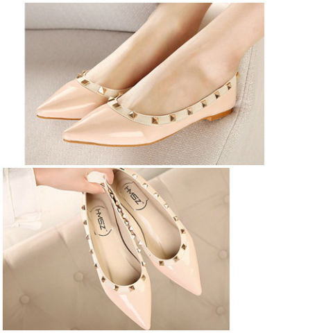 SH5881 IDR.198.000 MATERIAL PU-HEEL-2CM COLOR PINK SIZE 35,36,37,38,39,40