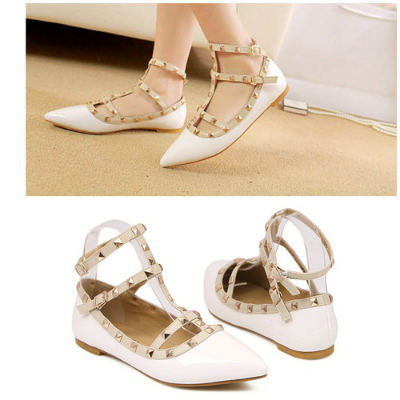 SH72672 IDR.210.000 MATERIAL PU-HEEL-1.5CM COLOR WHITE SIZE 35,37,38,39