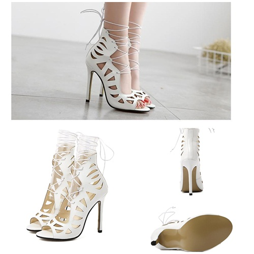 SH7504 IDR.225.000 MATERIAL PU-HEEL-11.5CM COLOR WHITE SIZE 36,37,38,39