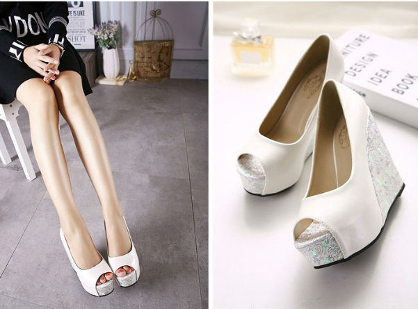 SH8188 IDR.215.000 MATERIAL PU-HEEL-4.5CM,14.5CM COLOR WHITE SIZE 35,36,37,38,39