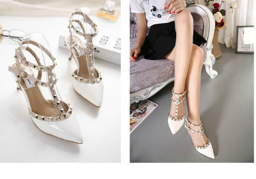 SH8296 IDR.238.000 MATERIAL PU-HEEL-7CM COLOR WHITE SIZE 35,36,37,38,39