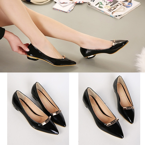 SH8339 IDR.215.OOO MATERIAL PU HEEL 2CM COLOR BLACK SIZE 38,39, COLOR WHITE SIZE 36,37,38,39, COLOR RED SIZE 37,39 (1)