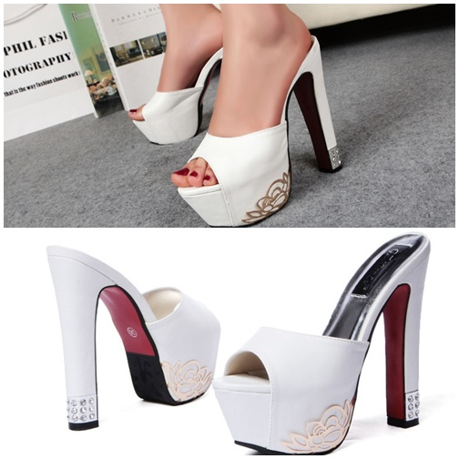 SH8391 IDR.242.000 MATERIAL PU HEEL 5CM,15CM COLOR WHITE SIZE 36,37,38,39.jpg