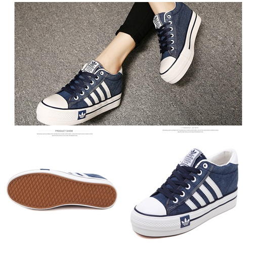 SH8506 IDR.202.000 MATERIAL DENIM-HEEL-6CM COLOR BLUE SIZE 36,37,38,39