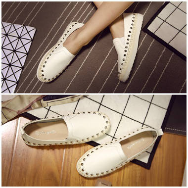 SH882 IDR.240.000 MATERIAL PU COLOR WHITE SIZE 36,38