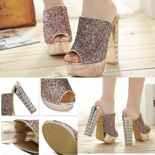SH9186 IDR.283.OOO MATERIAL PU HEEL 4CM,14CM COLOR GOLD SIZE 36,37,38,39