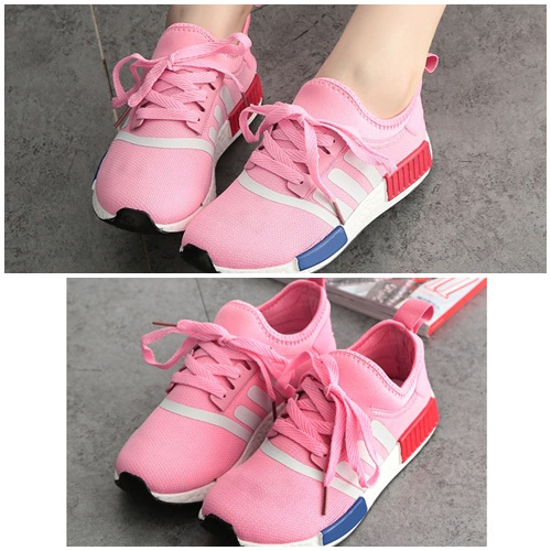 SH9930 IDR.228.000 MATERIAL CANVAS-HEEL-3CM COLOR PINK SIZE 36,37,38,39,40