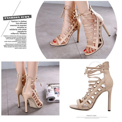 SH9981B IDR.245.000 MATERIAL PU-HEEL-11CM COLOR APRICOT SIZE 35,36,37,38,39