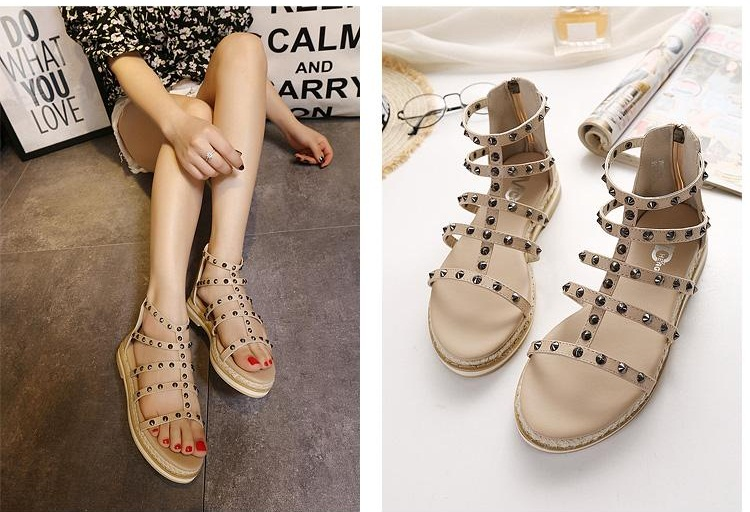 SH9981M IDR.230.000 MATERIAL PU-HEEL-3CM COLOR APRICOT SIZE 36,37,38,39,40