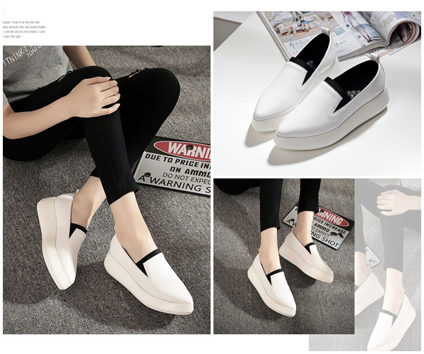 SHS10507 IDR.245.000 MATERIAL PU COLOR WHITE SIZE 35,36,37,38,39,40