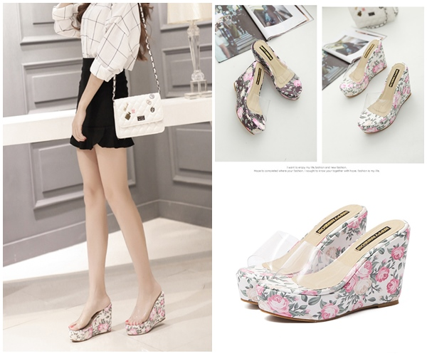 SHW8835 IDR.202.000 MATERIAL PU HEEL 11CM COLOR WHITE SIZE 36,37,38,39