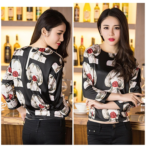 T35199 IDR.112.000 MATERIAL POLYESTER SIZE M,L-LENGTH56C,57CM-BUST114CM,118CM WEIGHT 200GR COLOR BLACK