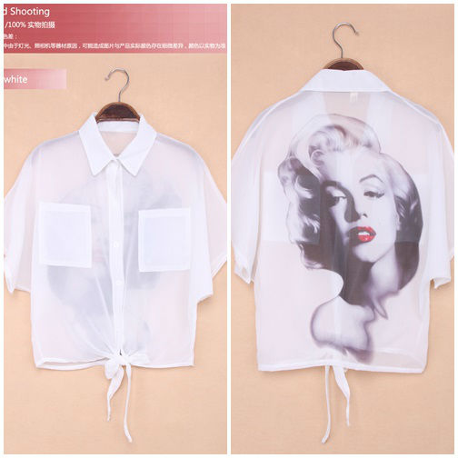T36777 IDR.110.000 MATERIAL CHIFFON LENGTH 64CM BUST 120CM WEIGHT 180GR COLOR WHITE