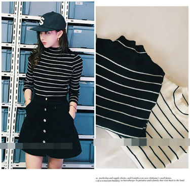 T3683 IDR.108.000 MATERIAL KNITTED-LENGTH61CM,BUST86CM WEIGHT 240GR COLOR BLACK