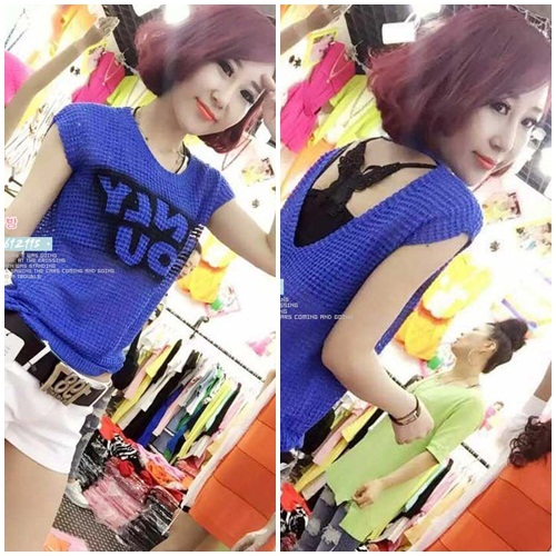 T39708-withINNER-IDR.118.000 MATERIAL KNITTED LENGTH60CM BUST90CM WEIGHT 250GR COLOR BLUE
