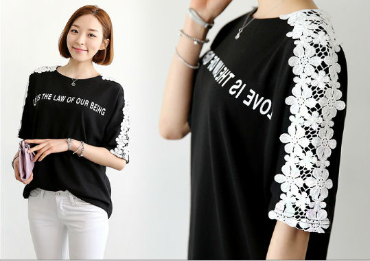 T47650 IDR.108.000 MATERIAL COTTON-LENGTH66CM,BUST100CM WEIGHT 240GR COLOR BLACK