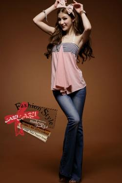 T5348 IDR.86.OOO MATERIAL COTTON-LENGTH-53CM,BUST-60-80CM WEIGHT 170GR COLOR PINK