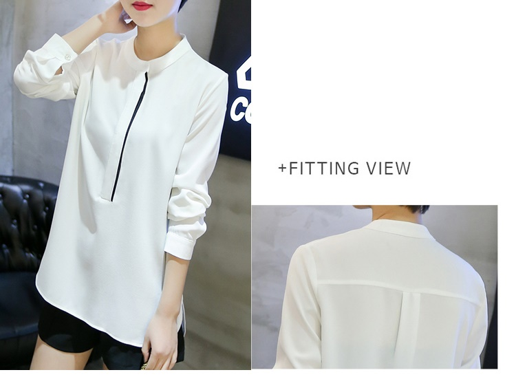 T6465 IDR.112.000 MATERIAL CHIFFON-SIZE-M,L-LENGTH64,65CM-BUST96,100CM WEIGHT 220GR COLOR WHITE